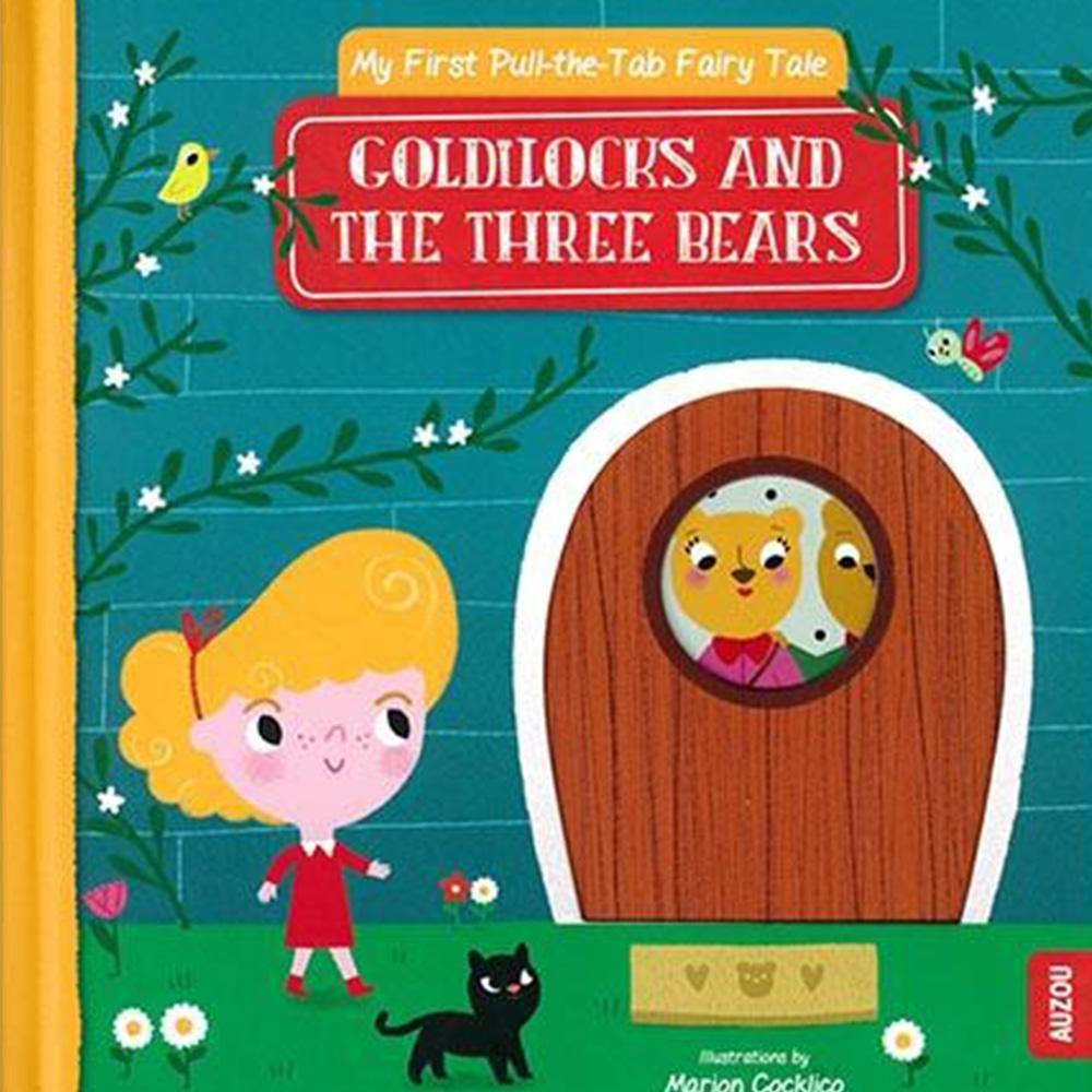 Goldilocks And The Three Bears 金髮女孩與三隻熊 推拉硬頁書