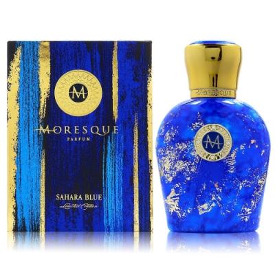 MORESQUE 莫拉斯科 SAHARA BLUE 撒哈拉湛藍淡香精 50ml 限量版