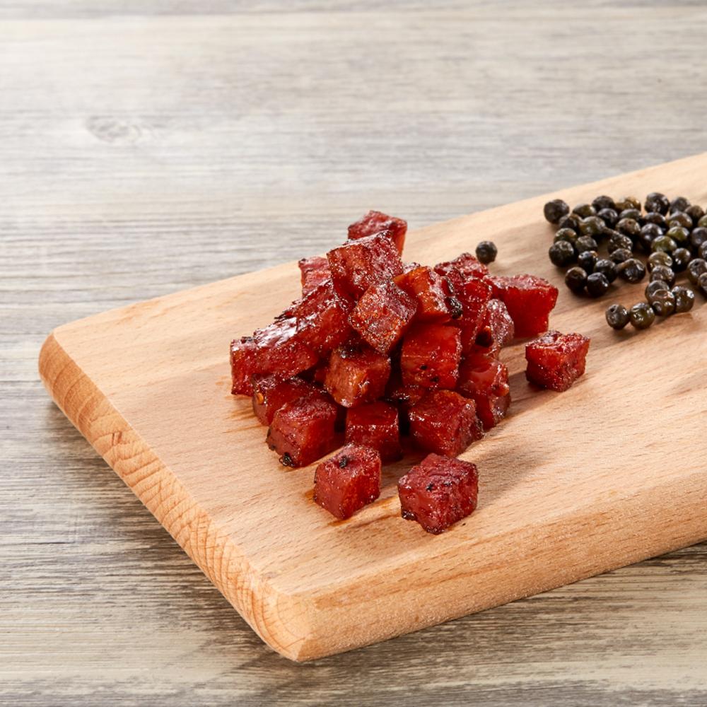 阮的肉干  馬告肉干 餓魔果實‧山林裡的黑珍珠(5包餓魔包)