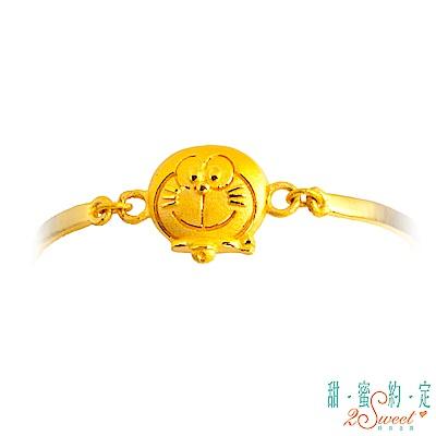 甜蜜約定Doraemon 小太陽哆啦A夢黃金手鍊