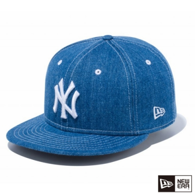 NEW ERA 9FIFTY 950 LOGO NY 丹寧/白 棒球帽