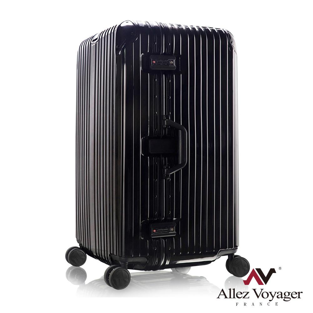 奧莉薇閣 29吋行李箱PC鋁框旅行箱 Sport運動版 (黑色)