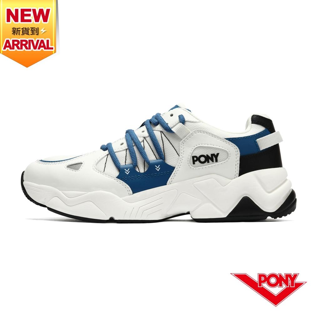 【PONY】MODERN 3 電光鞋 復古慢跑鞋 男鞋-藏青藍