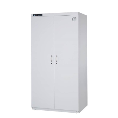 防潮家967公升簡約白電子防潮衣櫃D-1100CW-生活防潮指針型