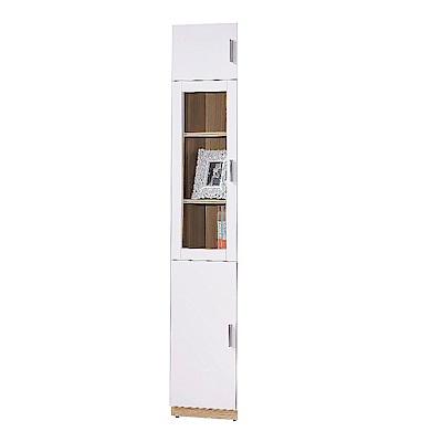 AS-金吉斯1.3尺三門高書櫃-40x32x213.3cm(兩款可選)