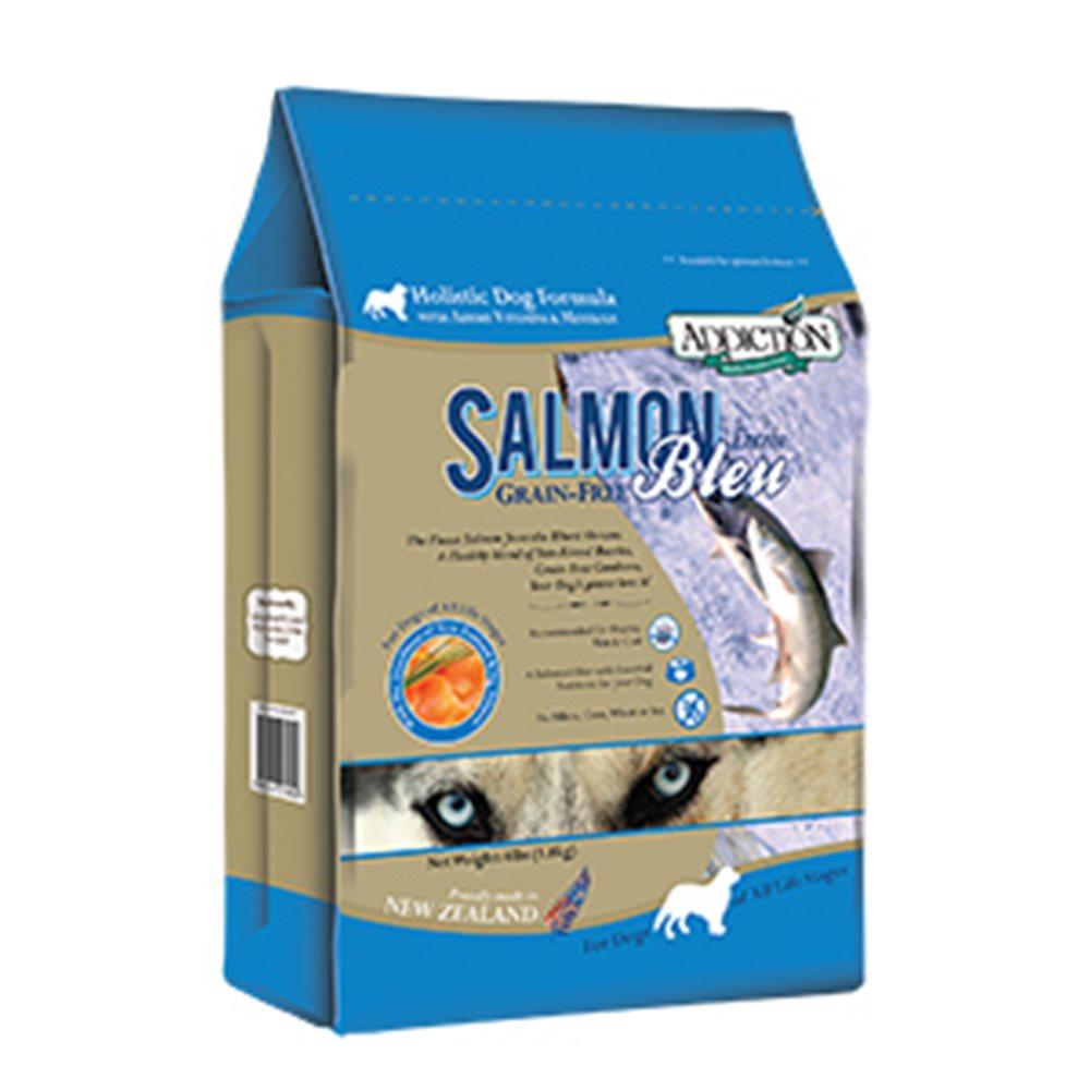 Addiction自然癮食 無穀藍鮭魚寵食犬糧 454G 兩包組