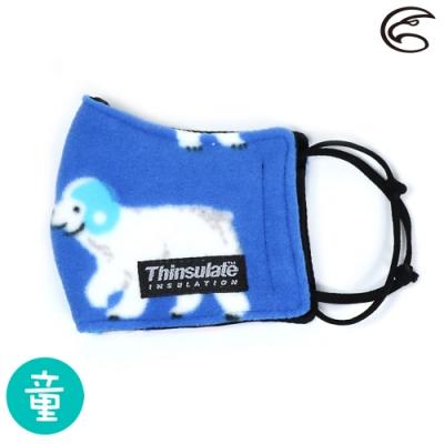 【ADISI】兒童防風保暖口罩 AS19027 / 藍色北極熊