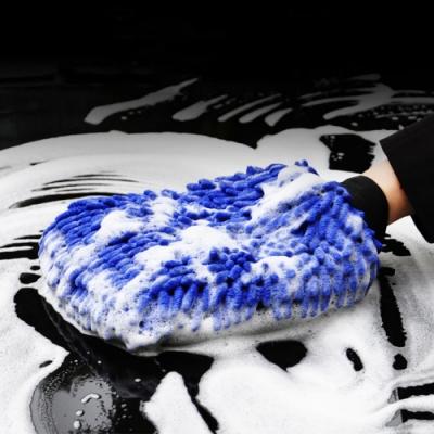 【Cap】雙面除塵洗車手套