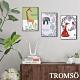 TROMSO北歐生活版畫有框畫-動物花園WA102(三幅一組) product thumbnail 1