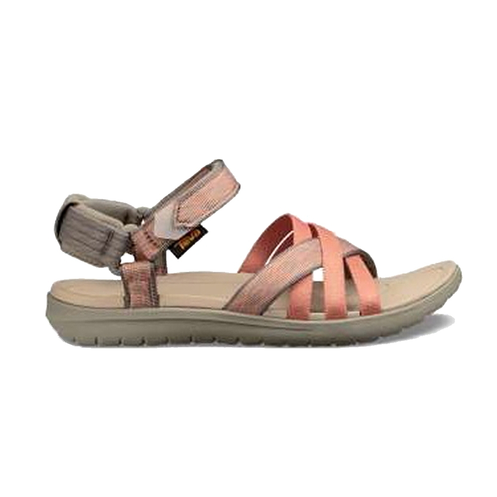 TEVA Sanborn Sandal 經典緹花織帶涼鞋 裂紋沙漠橘 女