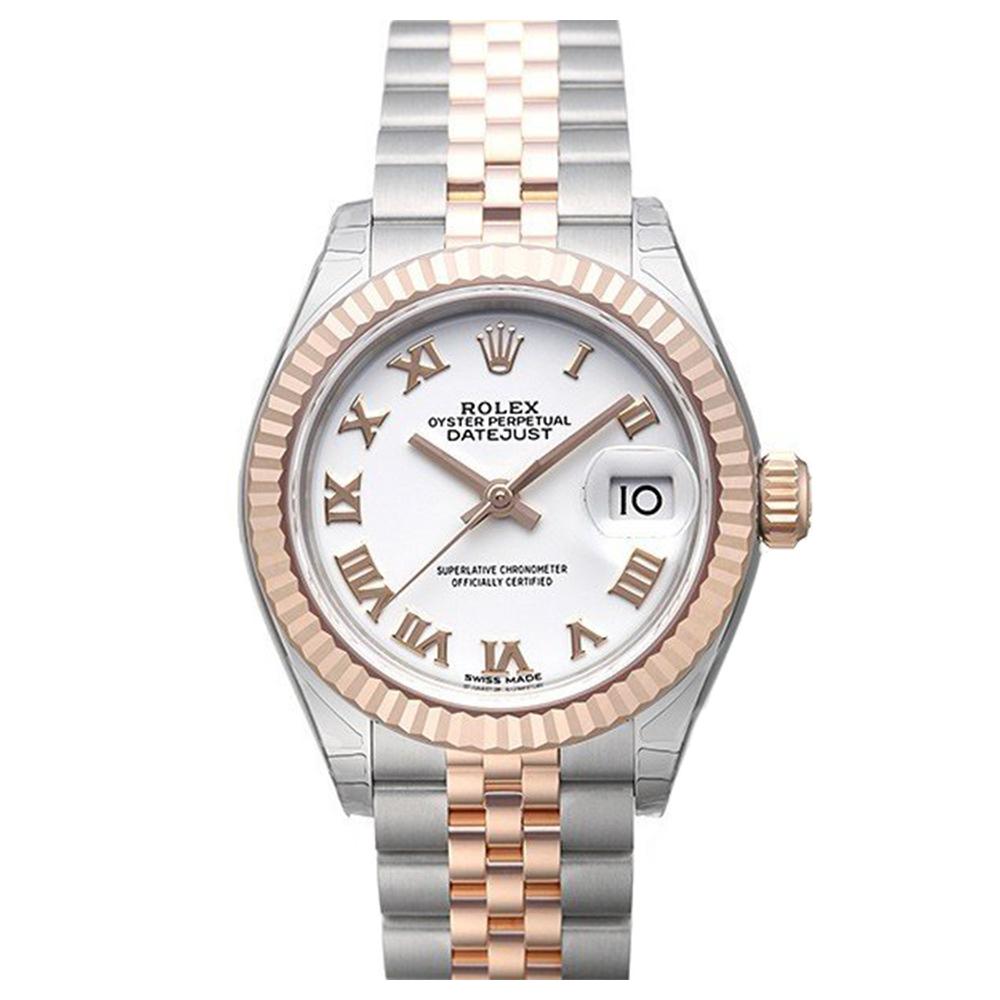 ROLEX 勞力士Datejust 279171蠔式半金日誌型腕錶x白面羅馬x28mm