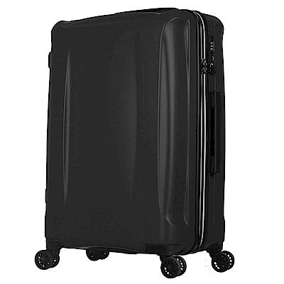 日本 LEGEND WALKER  5201 - 68 - 28 吋 超輕量行李箱 耀岩黑
