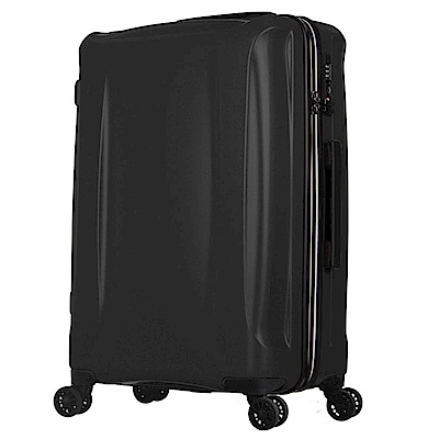 日本 LEGEND WALKER 5201-58-24吋 超輕量行李箱 耀岩黑