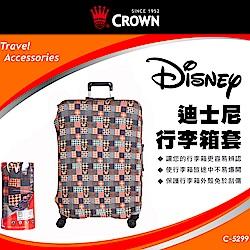 CROWN 皇冠 行李箱保護套 迪士尼 25吋~29吋可用