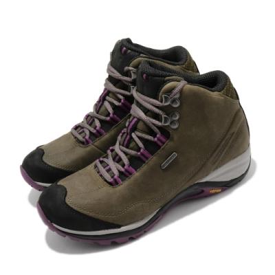 Merrell 戶外鞋 Siren Traveller 3 女鞋 登山 越野 耐磨 黃金大底 中筒 防水 綠 紫 ML035348