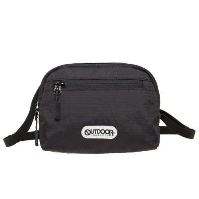 【OUTDOOR】輕遊系-側背包-黑色 OD201103BK