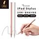 RENAISSER 瑞納瑟 iPad蘋果專用磁吸電容式觸控筆 iPad stylus-玫瑰金/霜霧白-台灣製造 product thumbnail 1