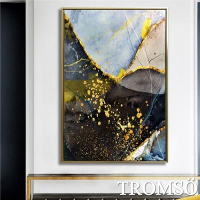 TROMSO北歐時代風尚有框畫-金燦棕咖WA142