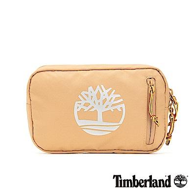 Timberland 中性駝色大樹標誌印花插扣腰包|A1CV9