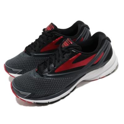 Brooks 慢跑鞋 Launch 4 運動 男鞋 路跑 緩震 DNA科技 透氣 健身 球鞋 黑 紅 1102441D016