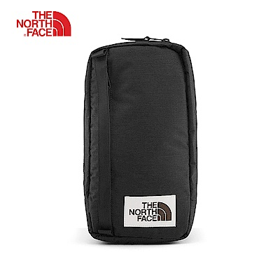 The North Face北面男女款黑色休閒單肩背包 3G8KKS7