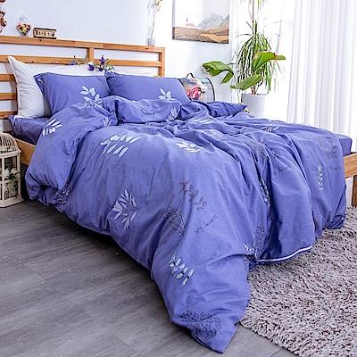 kokomos 扣扣馬 台灣製鎮瀾宮授權40支極致精梳棉雙人加大床包枕套三件組 南法薰衣草