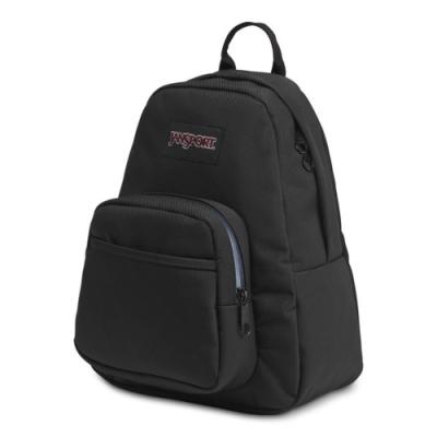 JanSport 校園背包(HALF PINT FX)-碳纖黑