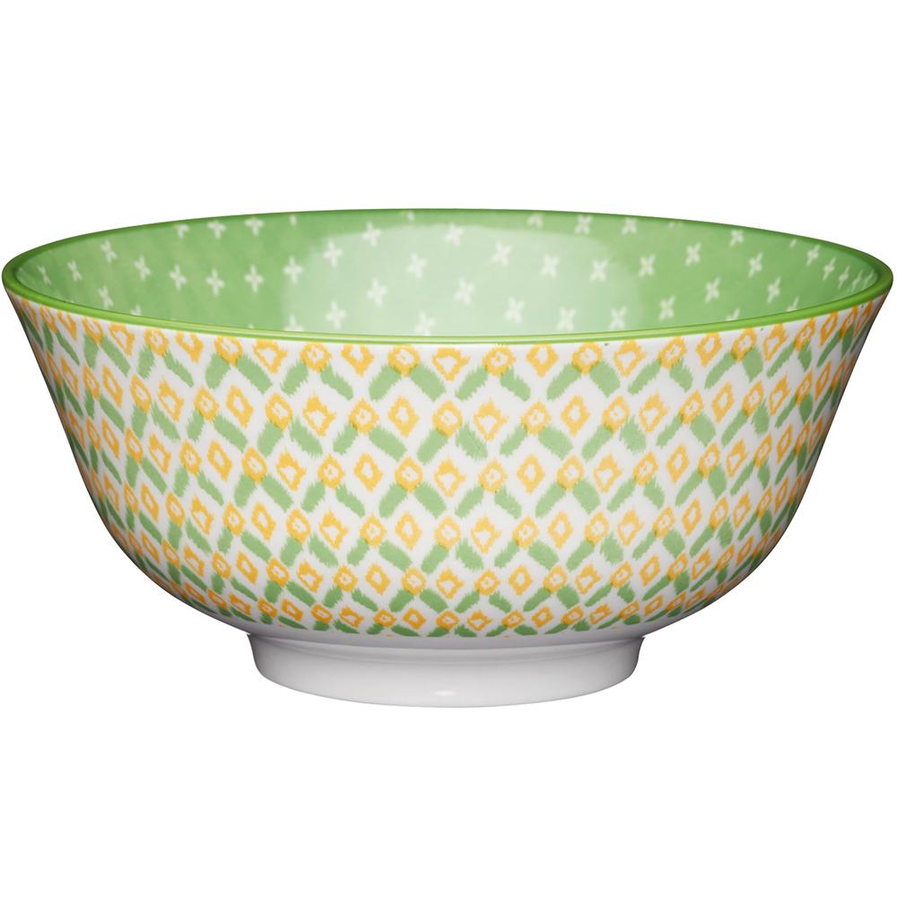《KitchenCraft》陶製餐碗(清新綠)