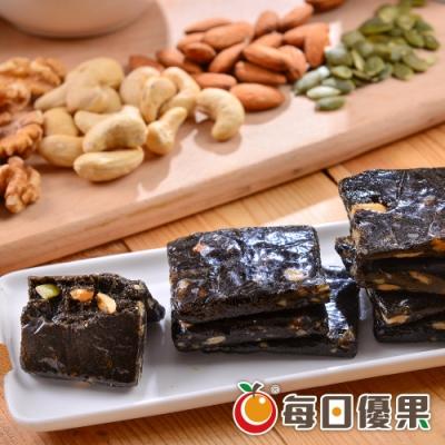 每日優果 綜合堅果黑芝麻糕(200g)