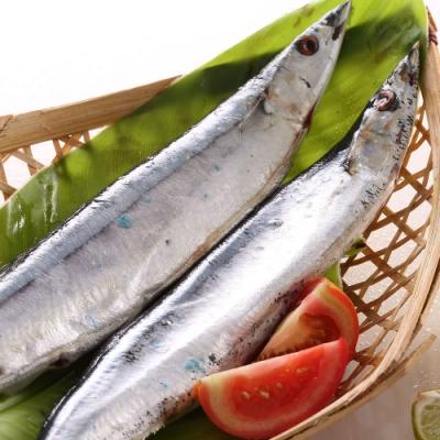 【上野物產】極品嚴選肥美秋刀魚 x5包(600g土10%/包)