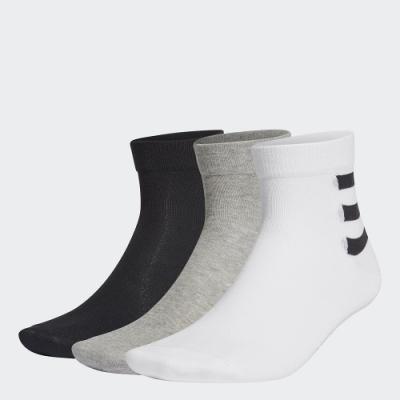 adidas 3-STRIPES 腳踝襪 3 雙入 男/女 GE6165