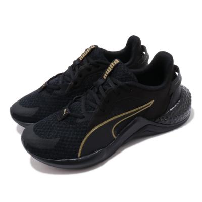 Puma 慢跑鞋 Hybrid NX Ozone 運動 女鞋 輕量舒適 避震 路跑 健身 球鞋 穿搭 黑 金 19310904