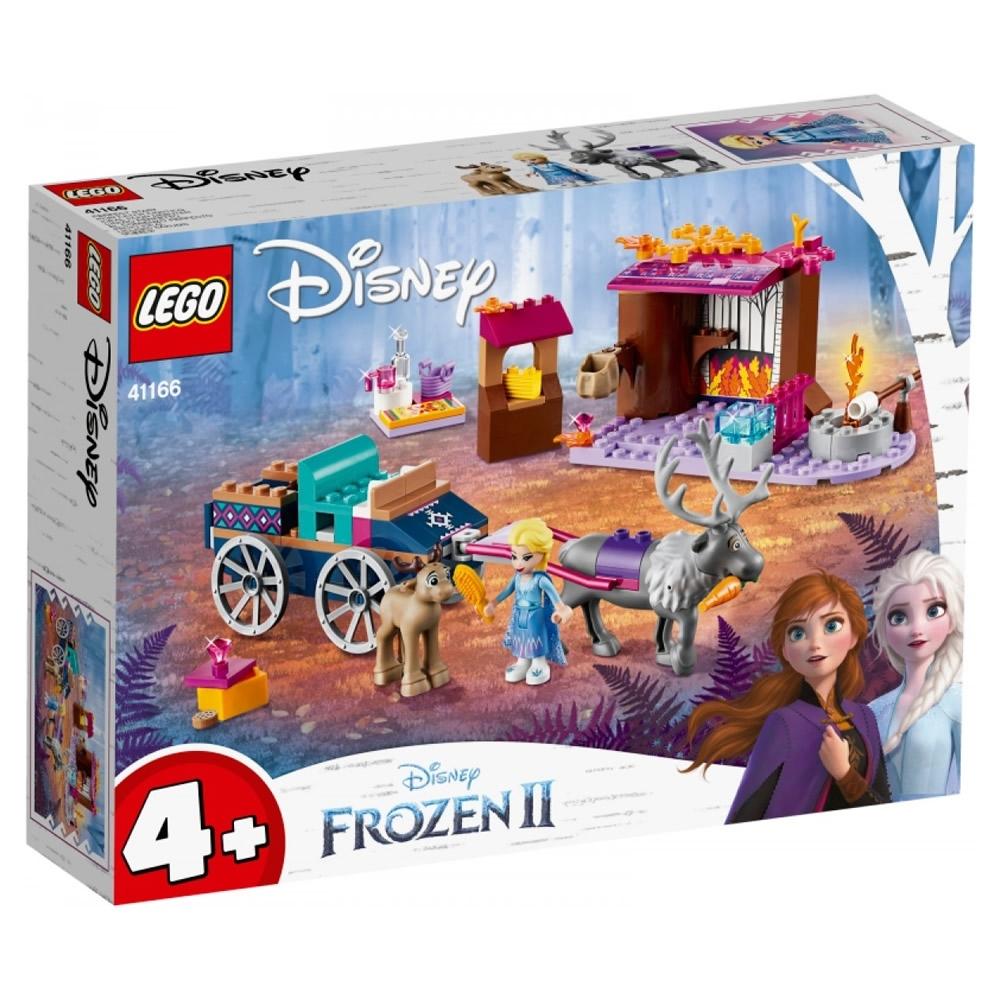 樂高LEGO 迪士尼公主系列 - LT41166 艾莎的旅行車冒險
