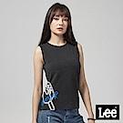 Lee 無袖冰棒印花背心-黑