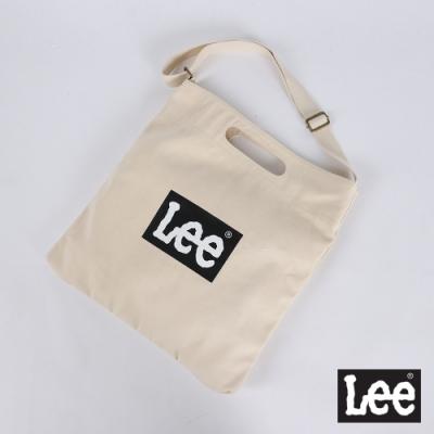 Lee Logo 郵差包 黑底logo
