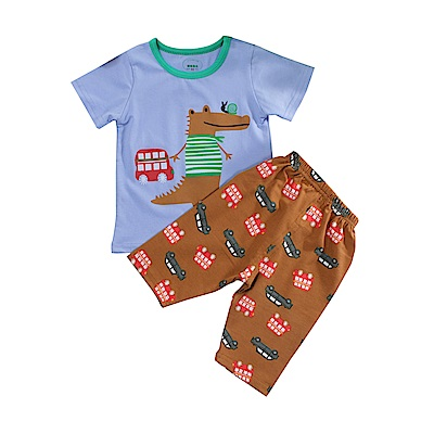 男童短袖清涼套裝 k51077 魔法Baby
