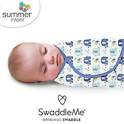 美國 Summer Infant - 聰明懶人育兒包巾 純棉 S- 戲水小象