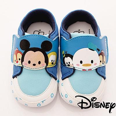 迪士尼童鞋 TSUMTSUM休閒款-FO18346藍(寶寶段)