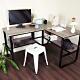 【樂活家】鑫克錸鋼木多用收納工作桌電腦桌辦公桌 product thumbnail 1