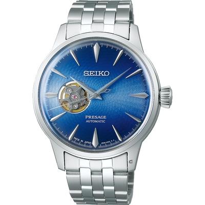 SEIKO精工Presage Cocktail調酒師 Blue Acapulco機械腕錶 4R38-01N0U(SSA439J1)-40.5mm