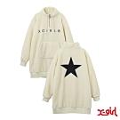 X-girl BOA DRESS毛絨外套-白