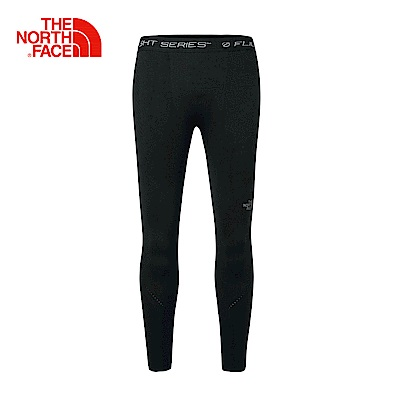 The North Face北面女款黑色彈力透氣戶外緊身褲