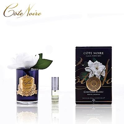 法國 CoteNoire 蔻特蘭 單朵槴子花香氛花黑瓶