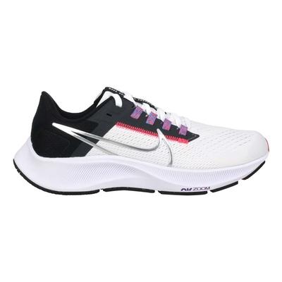 NIKE WMNS AIR ZOOM PEGASUS 38女運動慢跑鞋- 飛馬 CW7358101 白黑粉紫