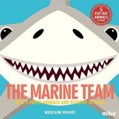 Mibo The Marine Team 趣味勞作童書-海底總動員