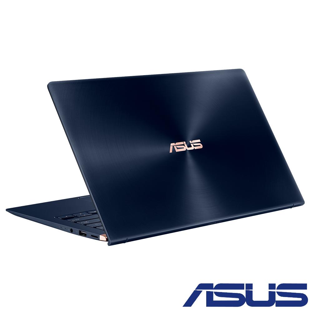 ASUS UX433FN 14吋輕薄筆電(i5-8265U/MX150/512G/8G/藍