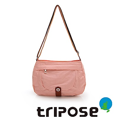 tripose 微旅系列淑女側肩包-櫻花粉