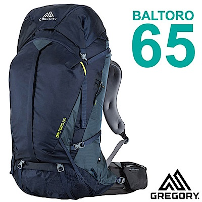 美國 GREGORY 新款 Baltoro 65 專業健行登山背包(M/65L)_海軍藍