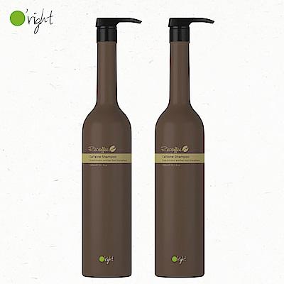 O right 歐萊德 咖啡因洗髮精1000ml 兩入組 (明星商品 首選)
