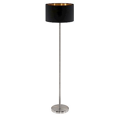 EGLO歐風燈飾 雙色布質燈罩立燈/落地燈(二色可選+不含燈泡)